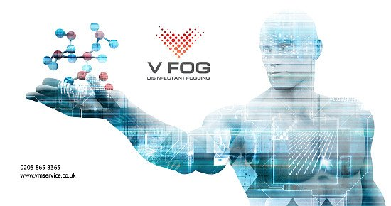 Free V-Fog disinfectant fogging