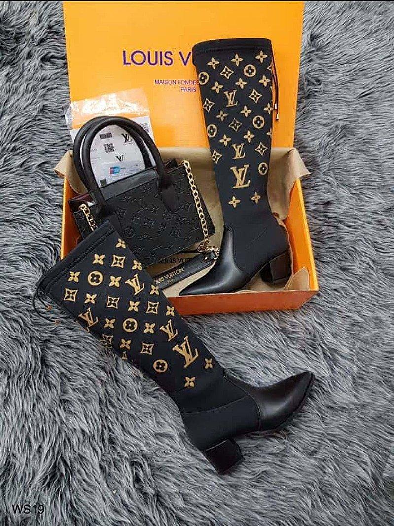 🎀LV Knee High Boots & Bag Sets ONLY £65!!!!🎀