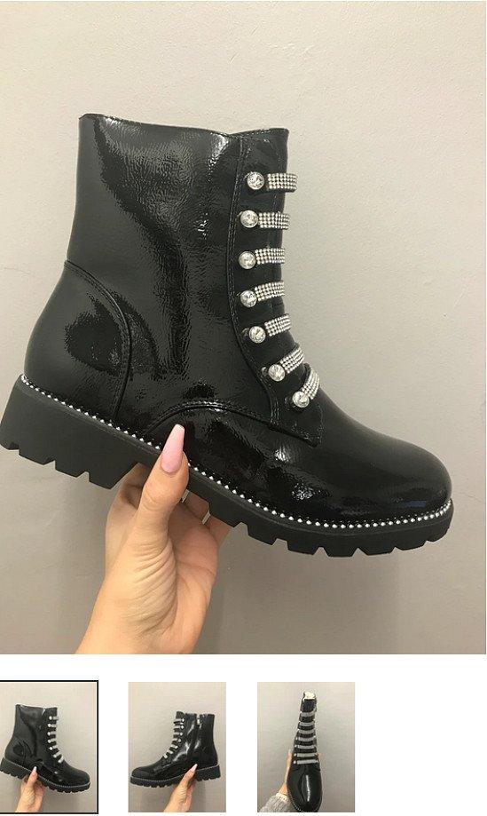 Kendra Patent Fur Lined Boots (BB)