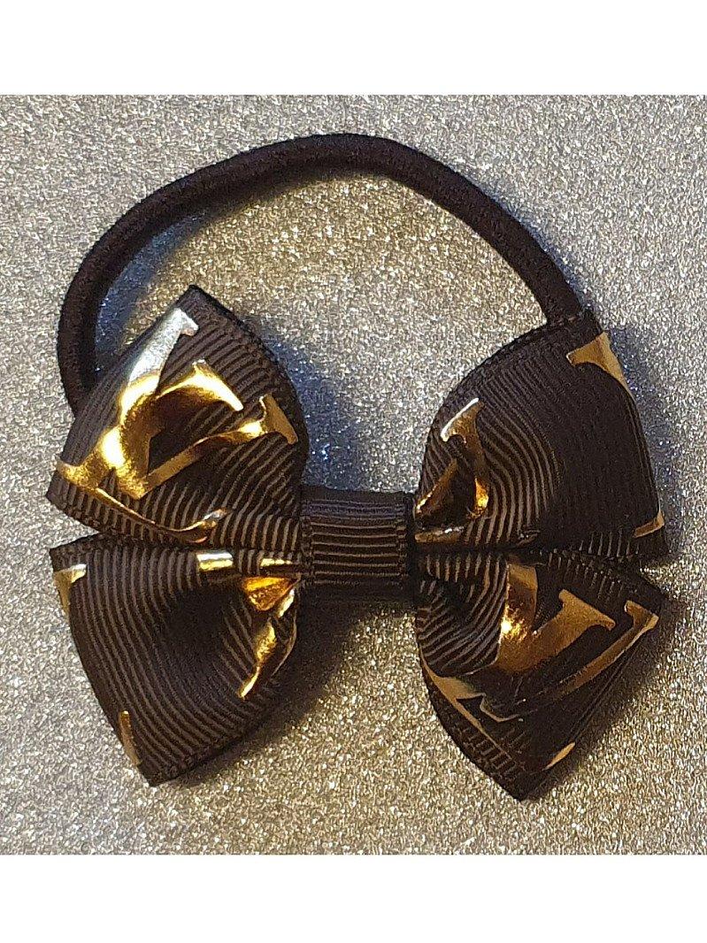 LV Fashion Mini Hairbow or Headband