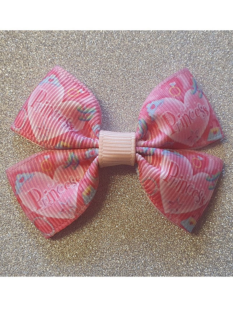 Princess Mini Hairbow or Headband