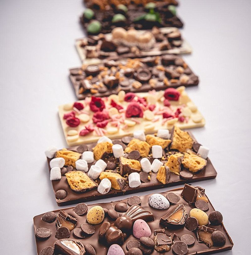 A slice of chocolate heaven!