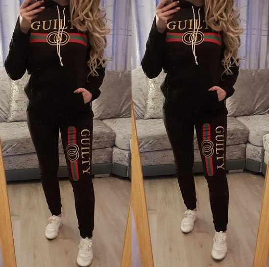 Guilty Tracksuit - Black (BB)