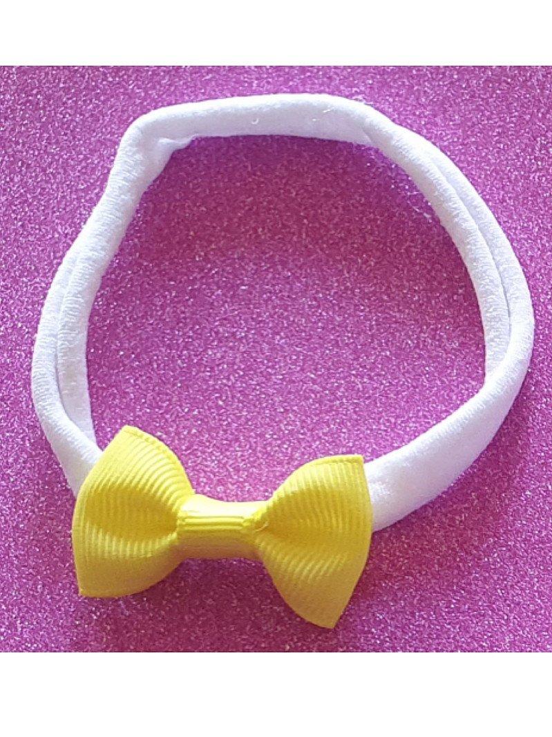 Teeny Lemon Yellow Headband