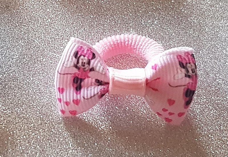 Minnie Mouse Teeny Hairbow or Headband