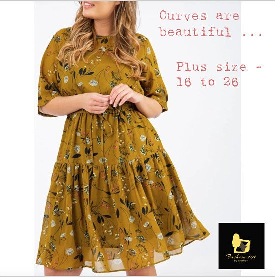 KOKO FLORAL MUSTARD MIDI TIE FRONT DRESS only 4 stocks left!
