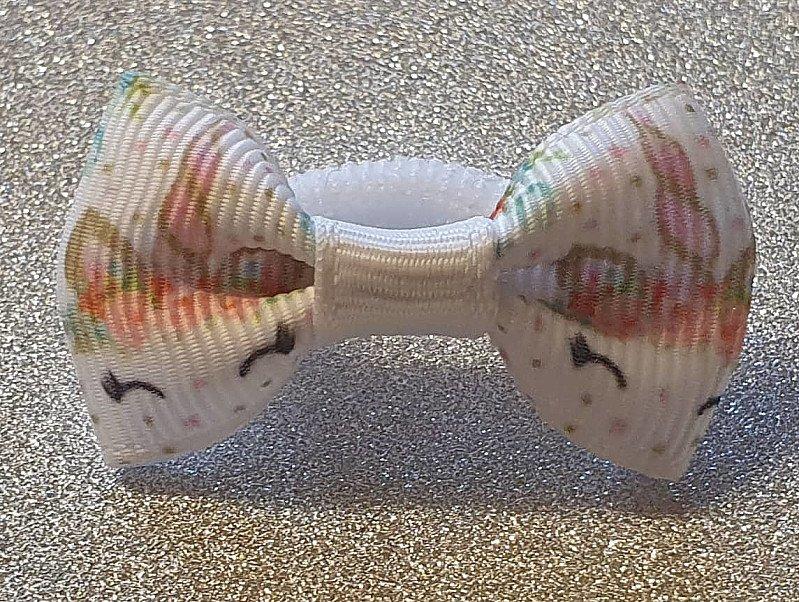 Unicorn Teeny Hairbow Or Headband