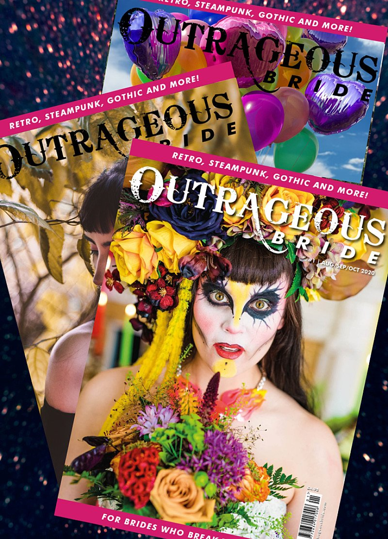 Outrageous Bride Subscription (4issues per year)