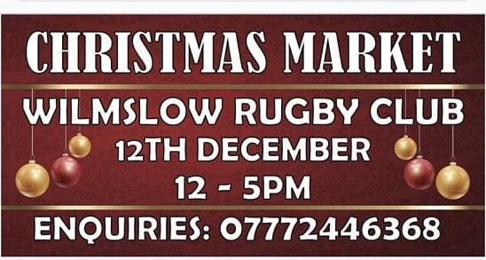 Xmas Market Wilmslow Rugby Club