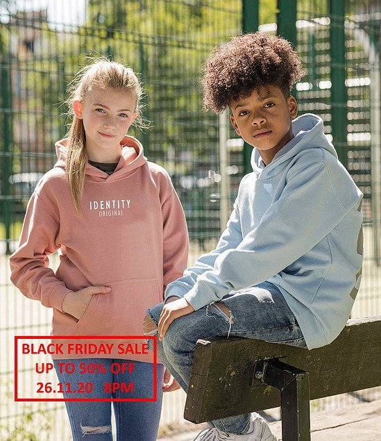 Kids Original Hoodie || Black Friday Sale Upto 50% off || Free Shipping || Starts 26.11.20 8pm