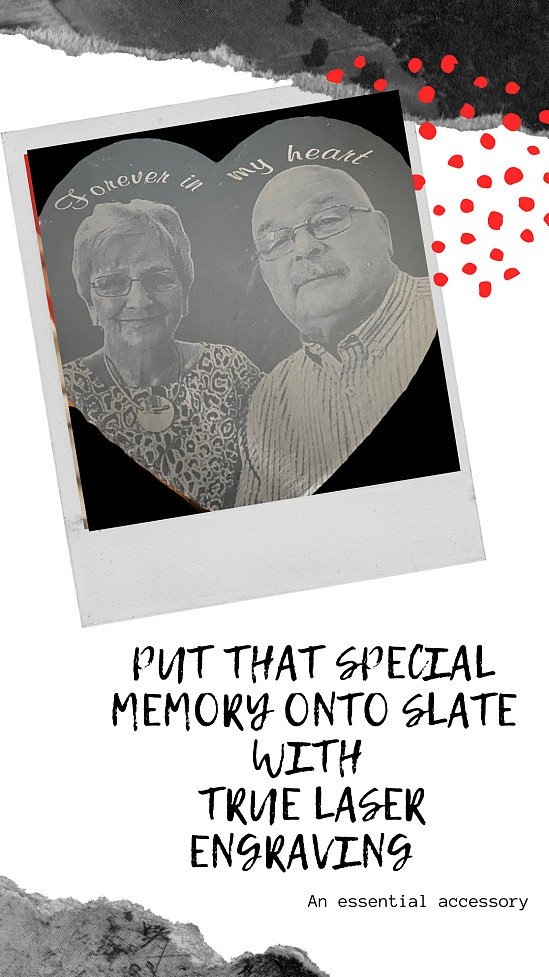 WIN a Free Laser Engraved Slate