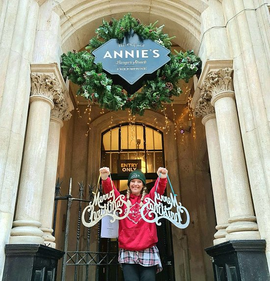 Christmas has finally arrived at Annie's Burger Shack!