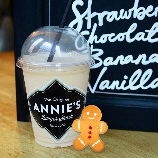 Now available... Gingerbread Milkshakes!