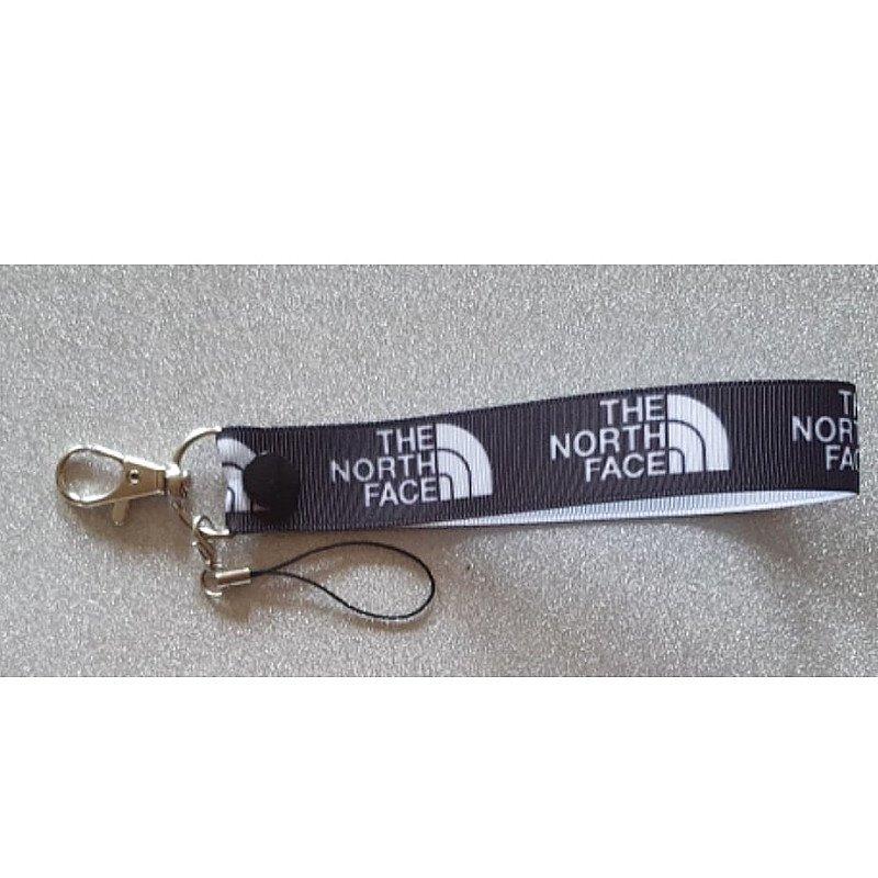 North Face Wriststrap Keyfob
