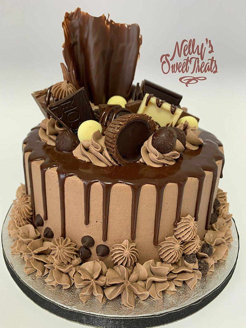 Luxury drip cakes