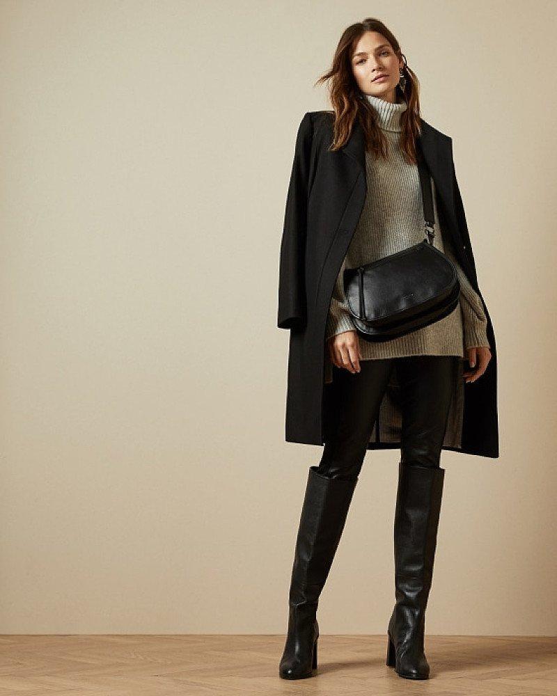 SALE - Long belted wrap coat!