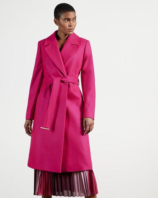 SALE - Long collared wool coat!