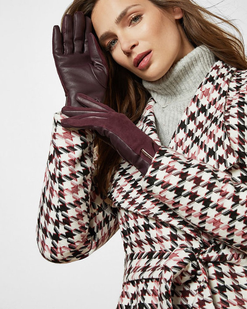 SALE - Suede and leather gloves!