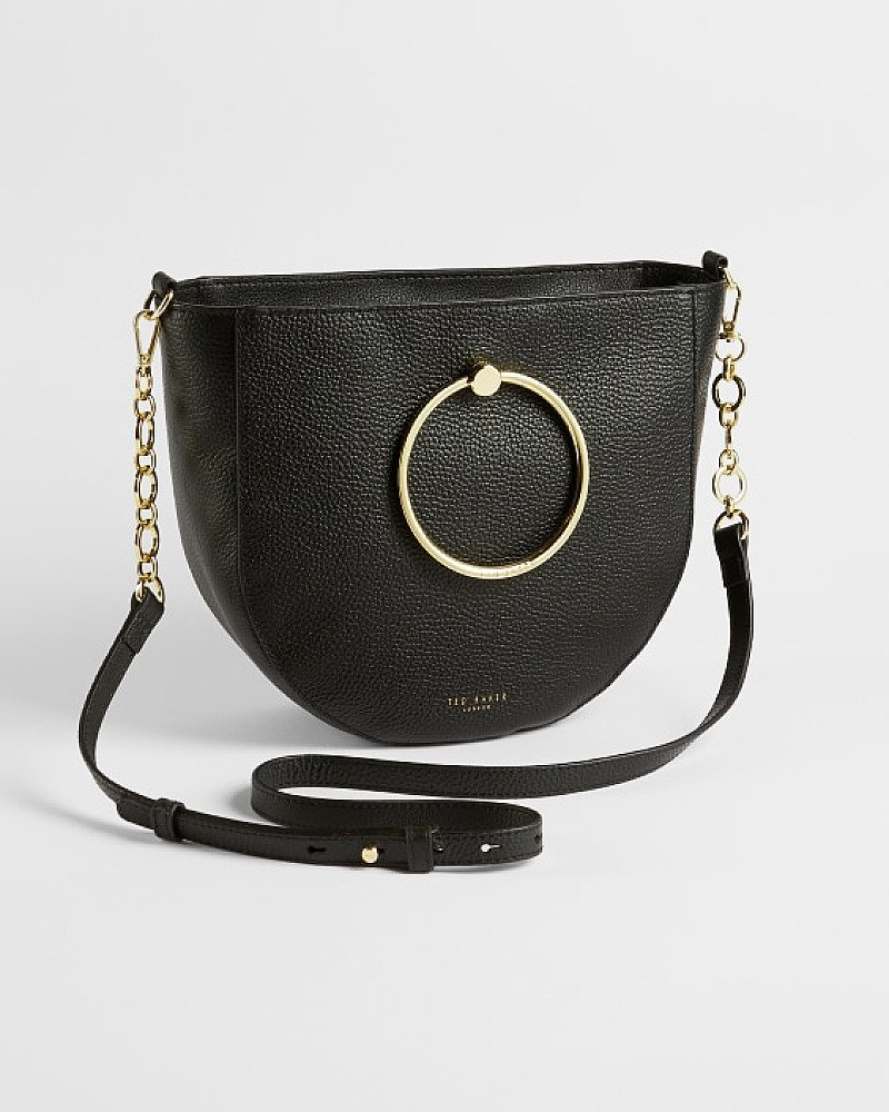 SALE - Circular handle medium shoulder bag!