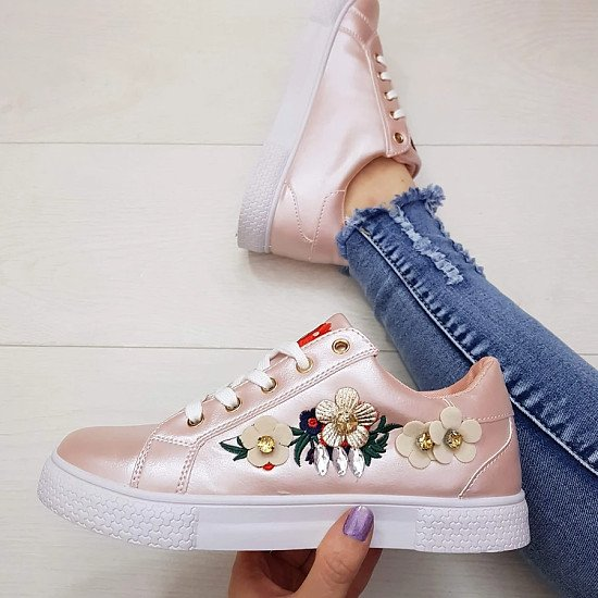 Sadie Floral Trainers - Size 7 £10