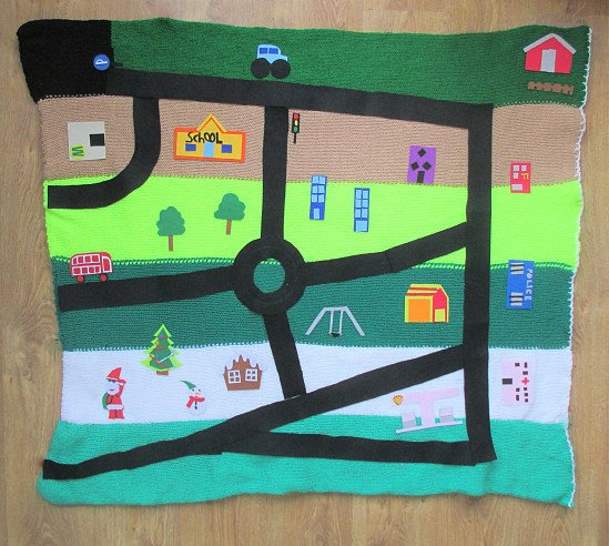 Auto fantasy blanket