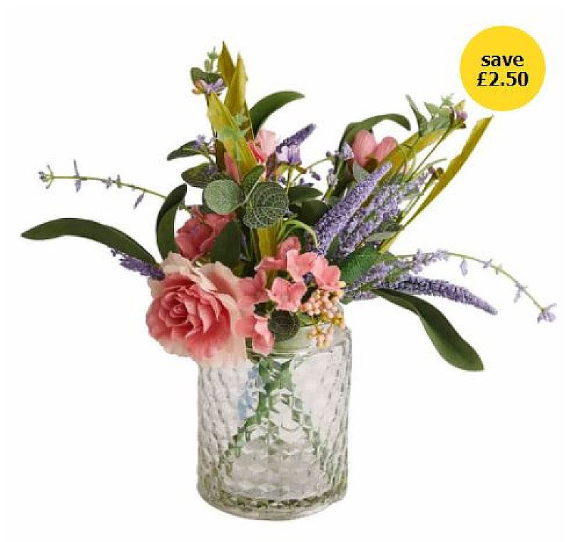 Home Accessories Sale - Wilko Treasured Floral Bouquet in Vase!