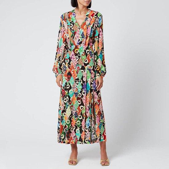 SALE - RIXO Women's Autumn Dress - Patchwork!