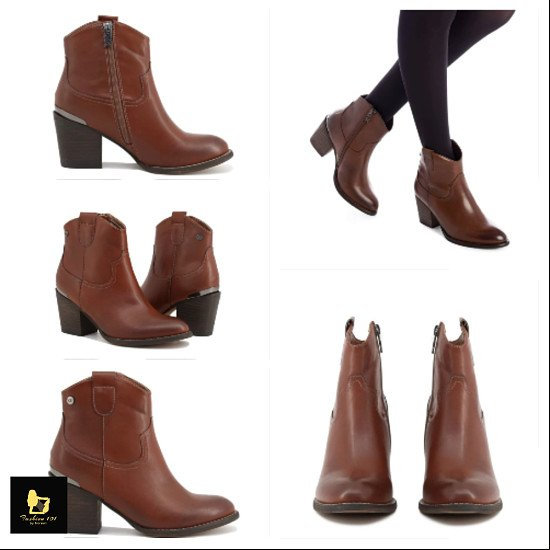 Xti  COWBOY ANKLE BOOTS for £39.99
