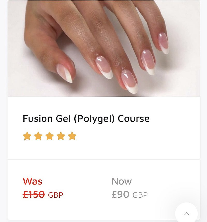 Online Nail Fusion Training