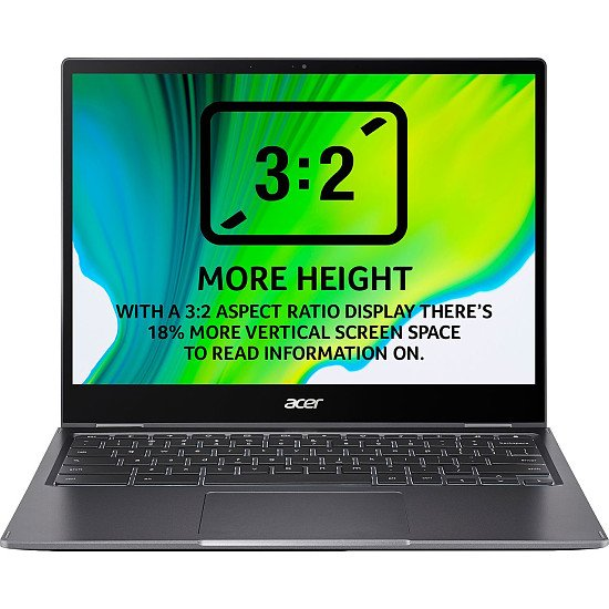 """SALE - Acer Spin 13 2-in-1 Chromebook CP713-2W 13.5"""" - Iron!"""
