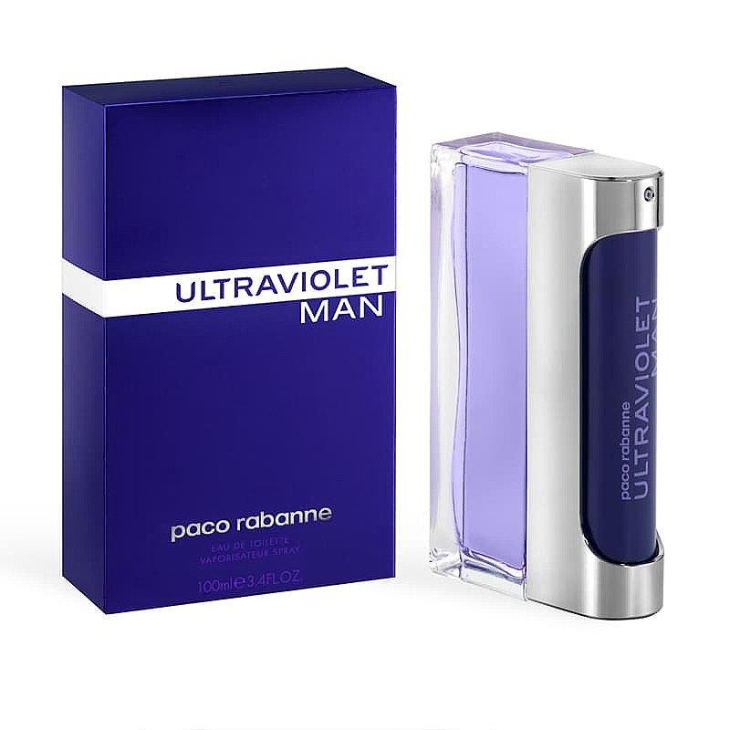 SALE - Paco Rabanne Ultraviolet Man Eau de Toilette Spray 100ml