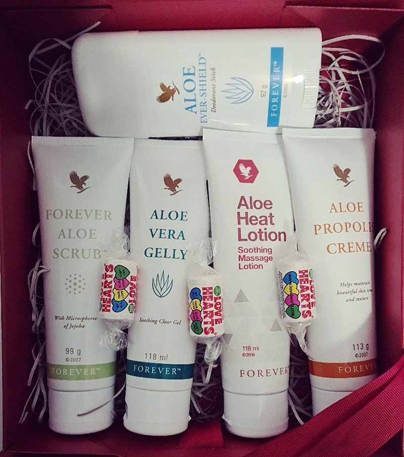 Aloe Vera Luxury Gift Set