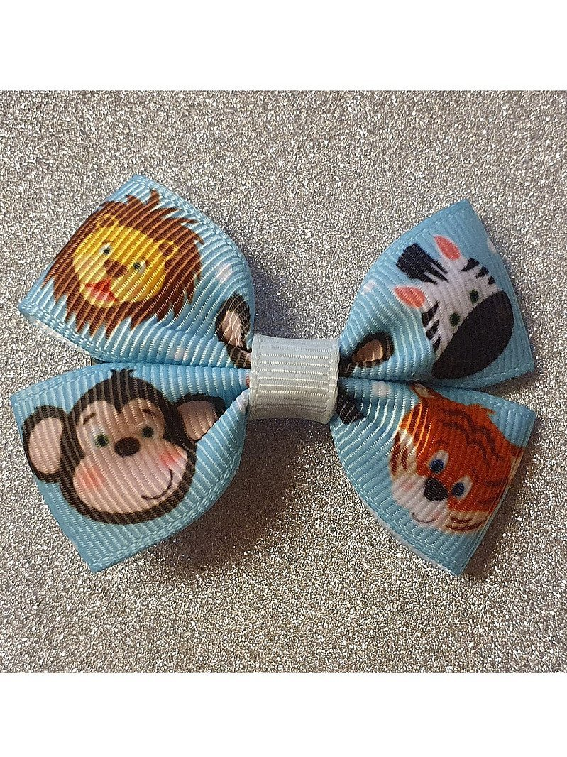 ZOO Animals Mini Hairbow or Headband