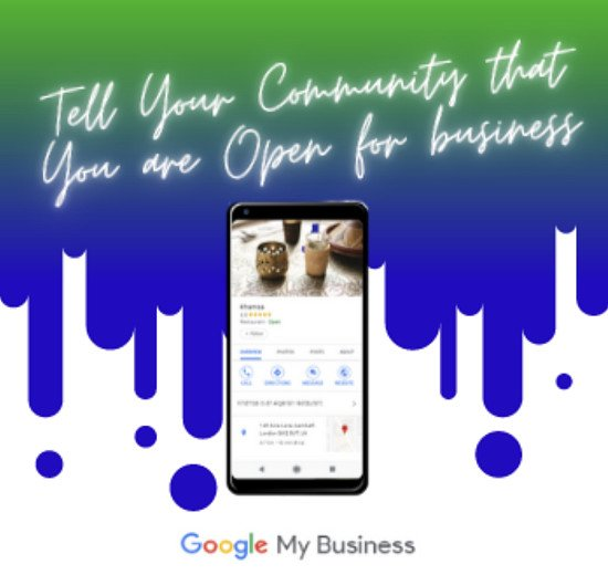 Be found on Google - get your business listed on Google My Business today! We get you online for £25