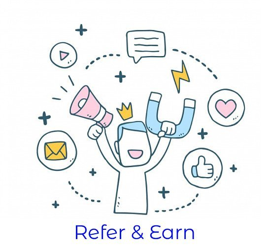 Earn while inviting friends and family!