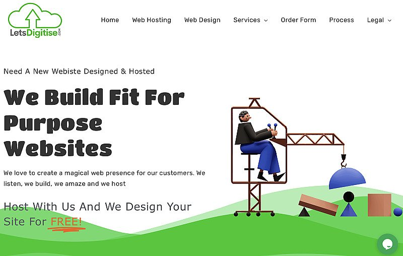 Get your own brand new website on line for only t£15 per month, ALL COSTS INCLUDED!