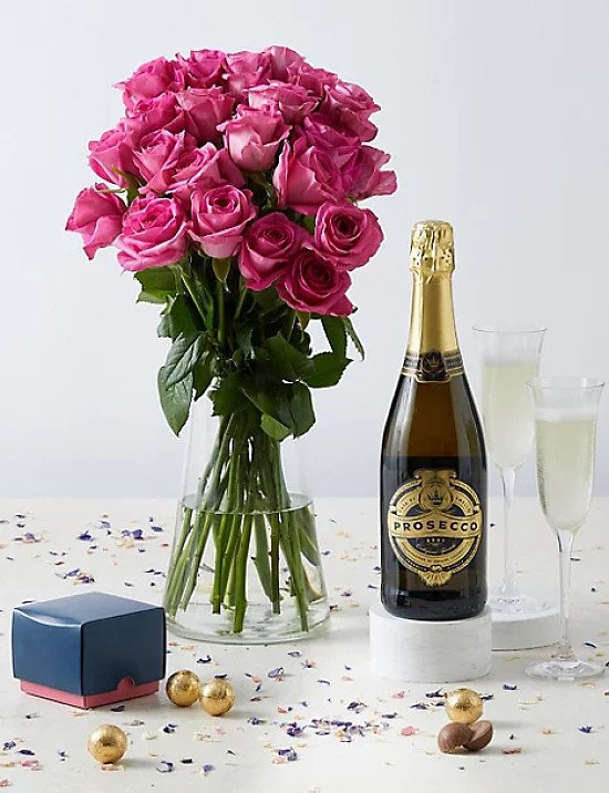 Especially for You Bouquet with Prosecco & Chocolates - £40.00!
