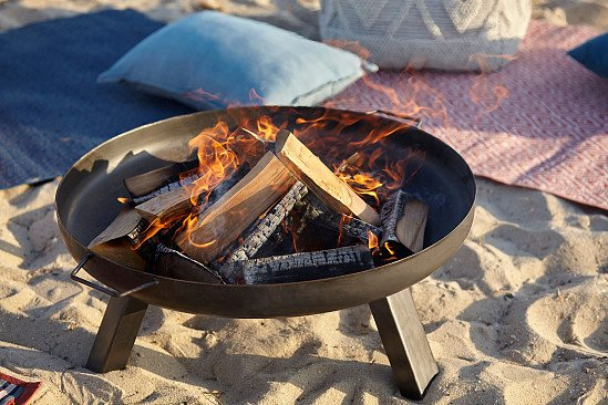 Blooma Manitan Steel Firepit - £63.00!
