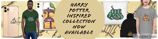Harry Potter collection now available on my Etsy shop