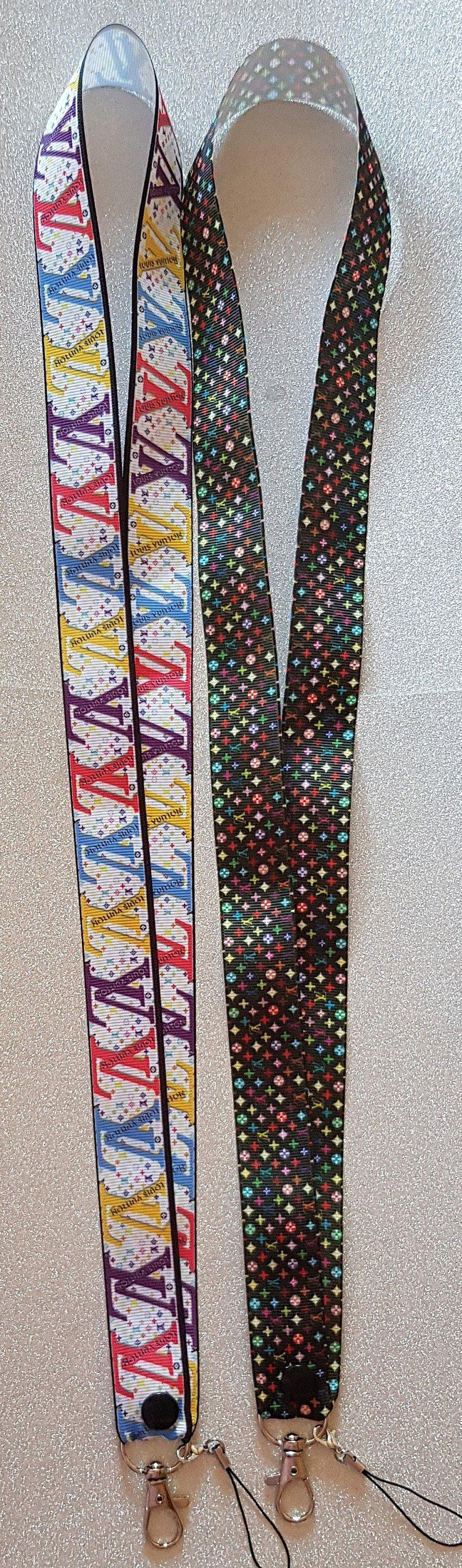 Louis Vuitton Lanyard Id Badge Holders