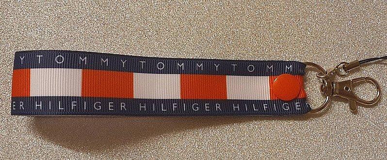 Tommy Hilfiger Wriststrap Lanyard Keyfob Keyring