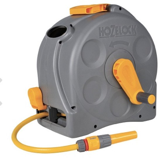 Hozelock Enclosed Reel with 25m Hose