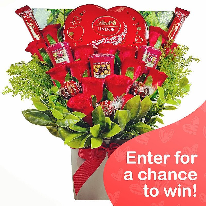 WIN this Valentine's Yankee Candle Bouquet