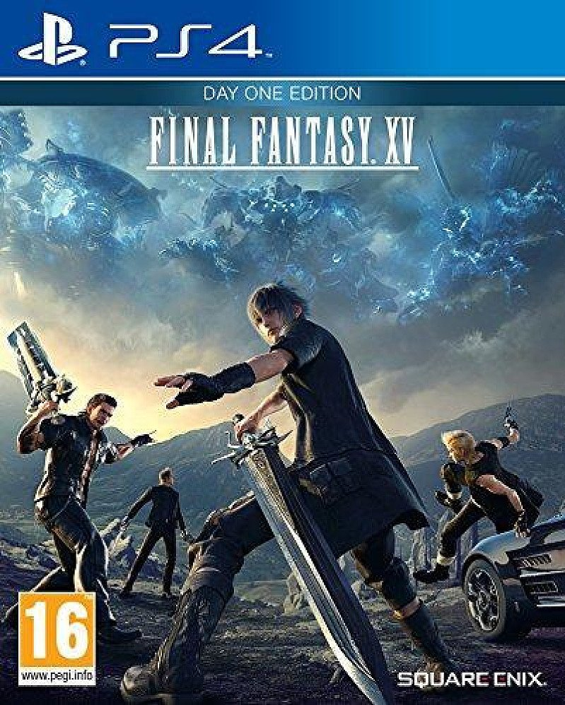 PLAYSTATION 4 FINAL FANTASY XV - DAY ONE EDITION (PS4) BRAND NEW