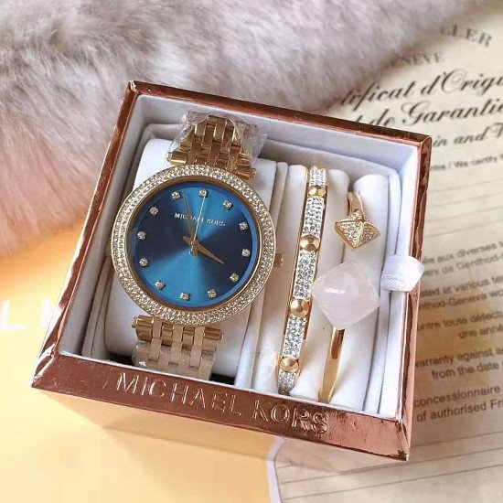 Michael kors Darci Mk3498 Ladies Watch gift Set