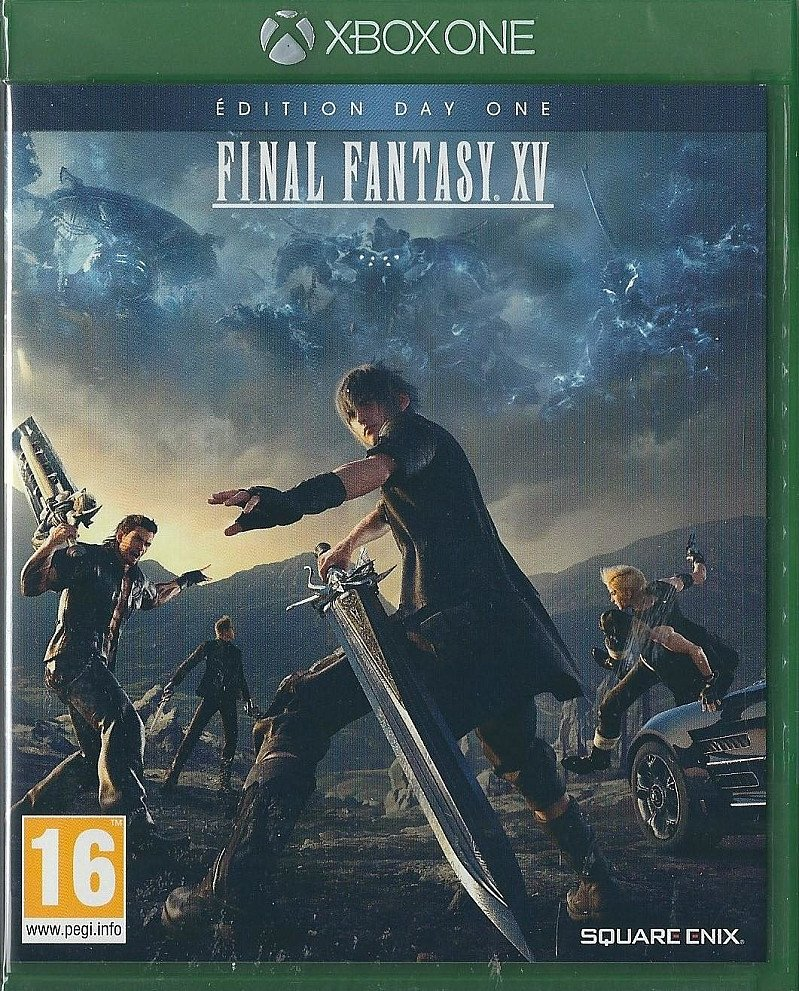 Xbox One Final Fantasy XV Day One Edition (IMPORT) BRAND NEW
