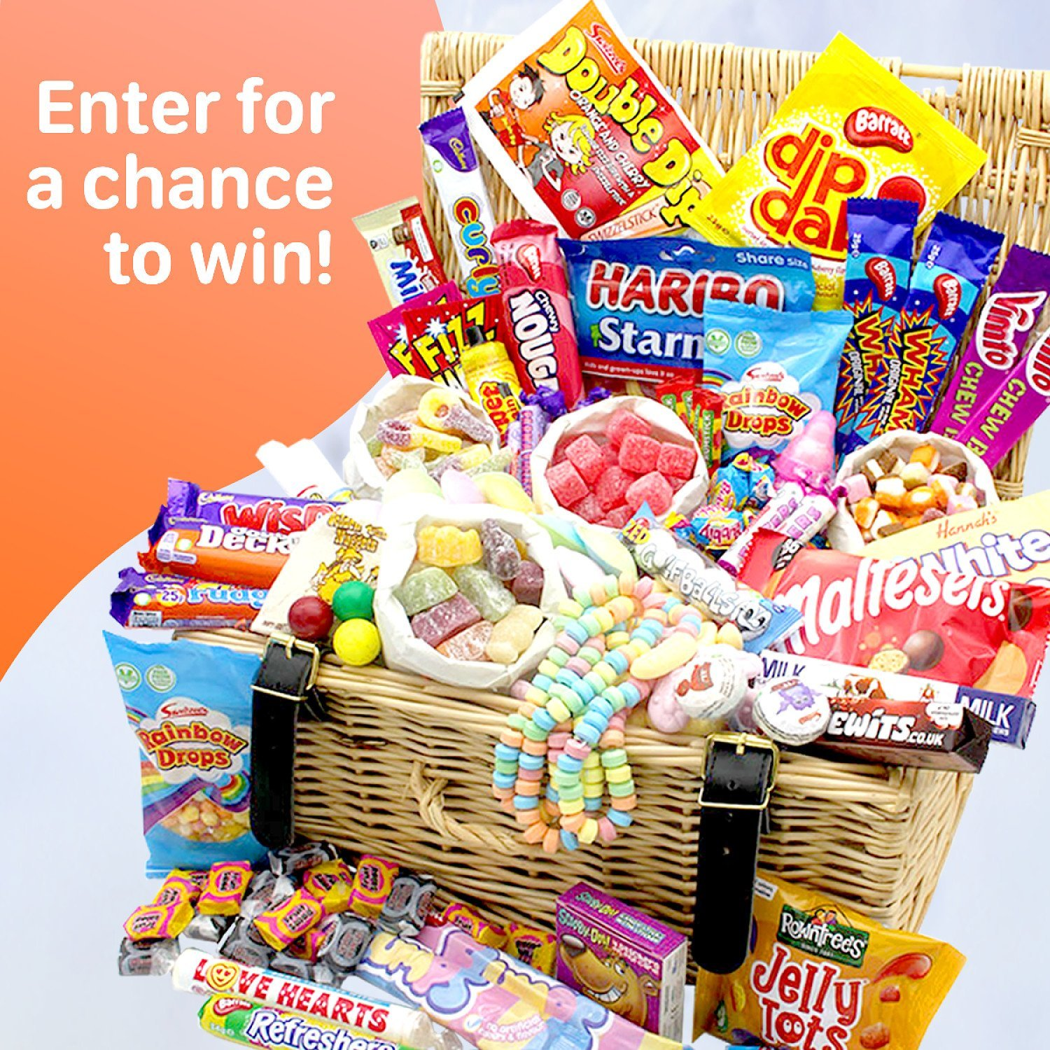 WIN a Mega Retro Sweets Hamper filled with 50 tasty tuckshop classics!