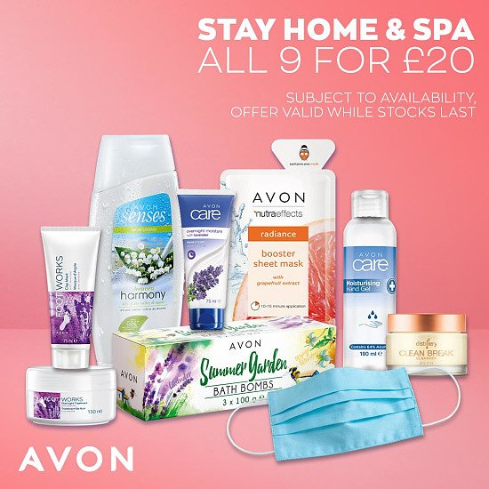 Stay home spa pack