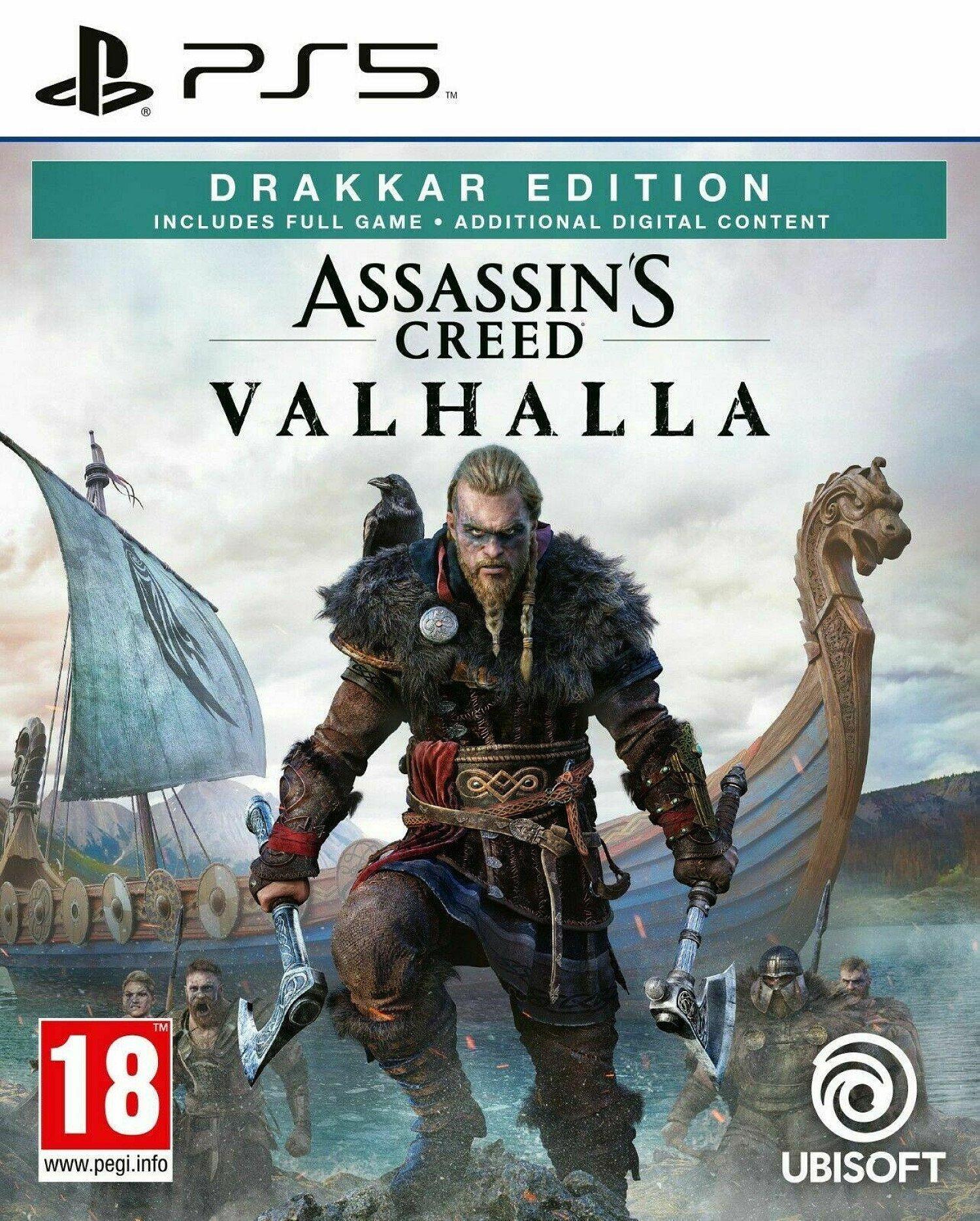 Playstation 5 ********'s Creed Valhalla Drakkar Edition (PS5) BRAND NEW