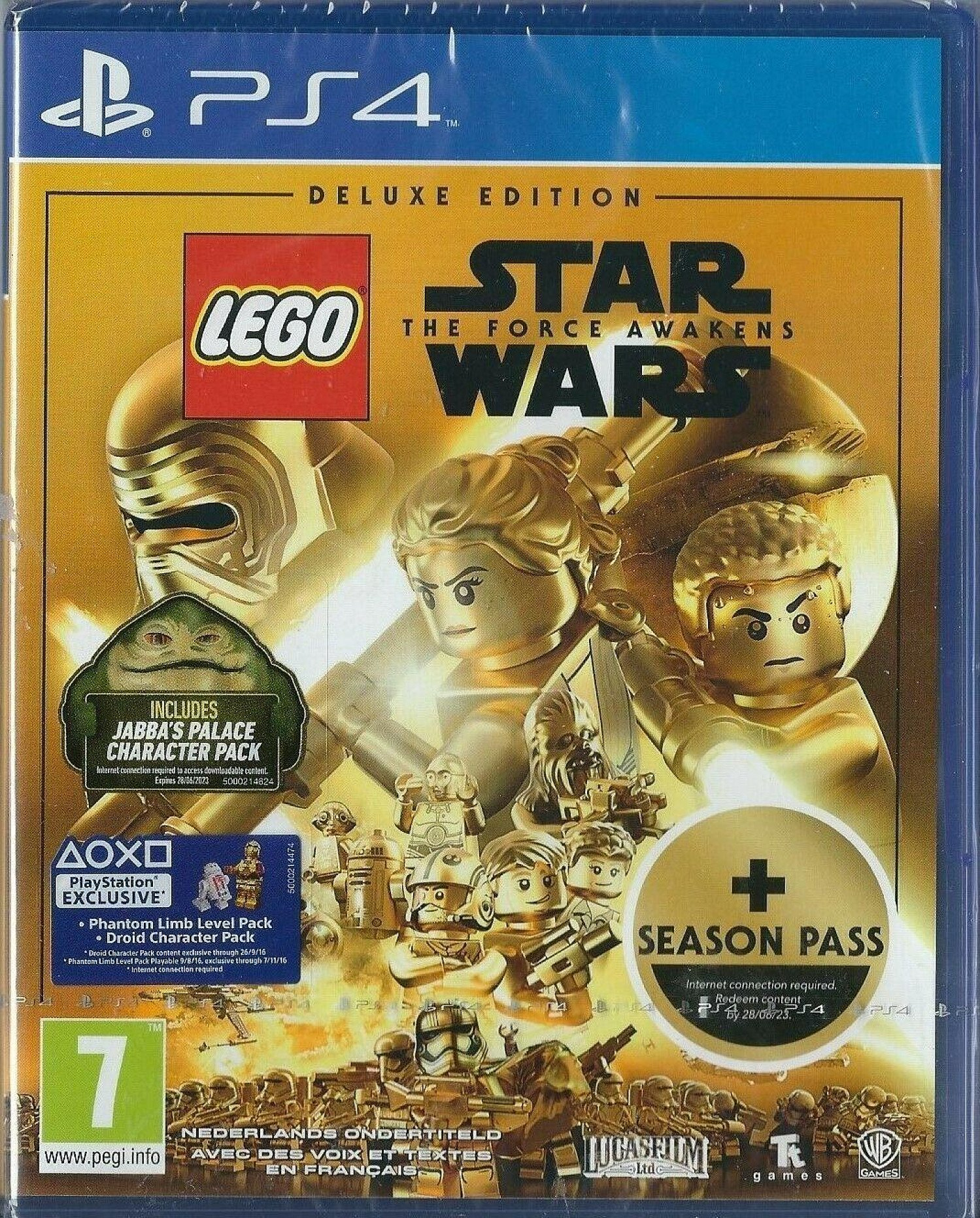 Playstation 4 LEGO Star Wars The Force Awakens Deluxe Edition (PS4) (IMPORT) NEW FREE UK SHIPPING